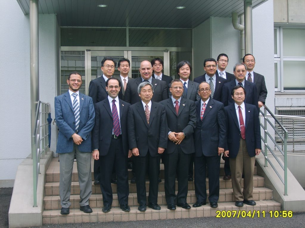 Executive committee first visit to Waseda university