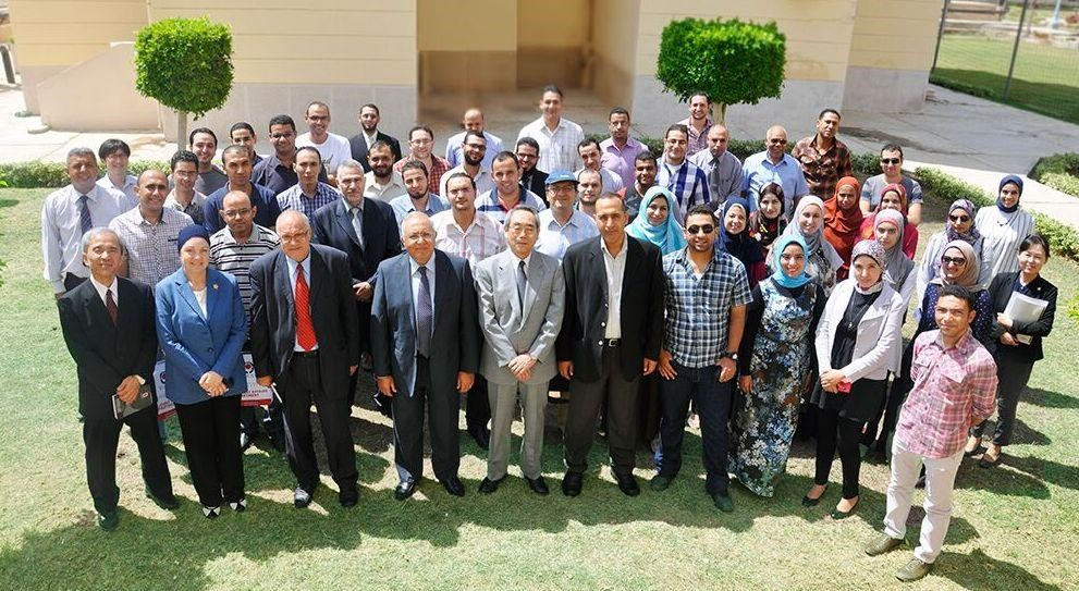 First Day of Prof. Ahmed El Gohary, President of E-JUST