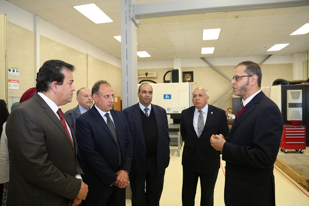 Visit of Egyptian Minister of Higher Education