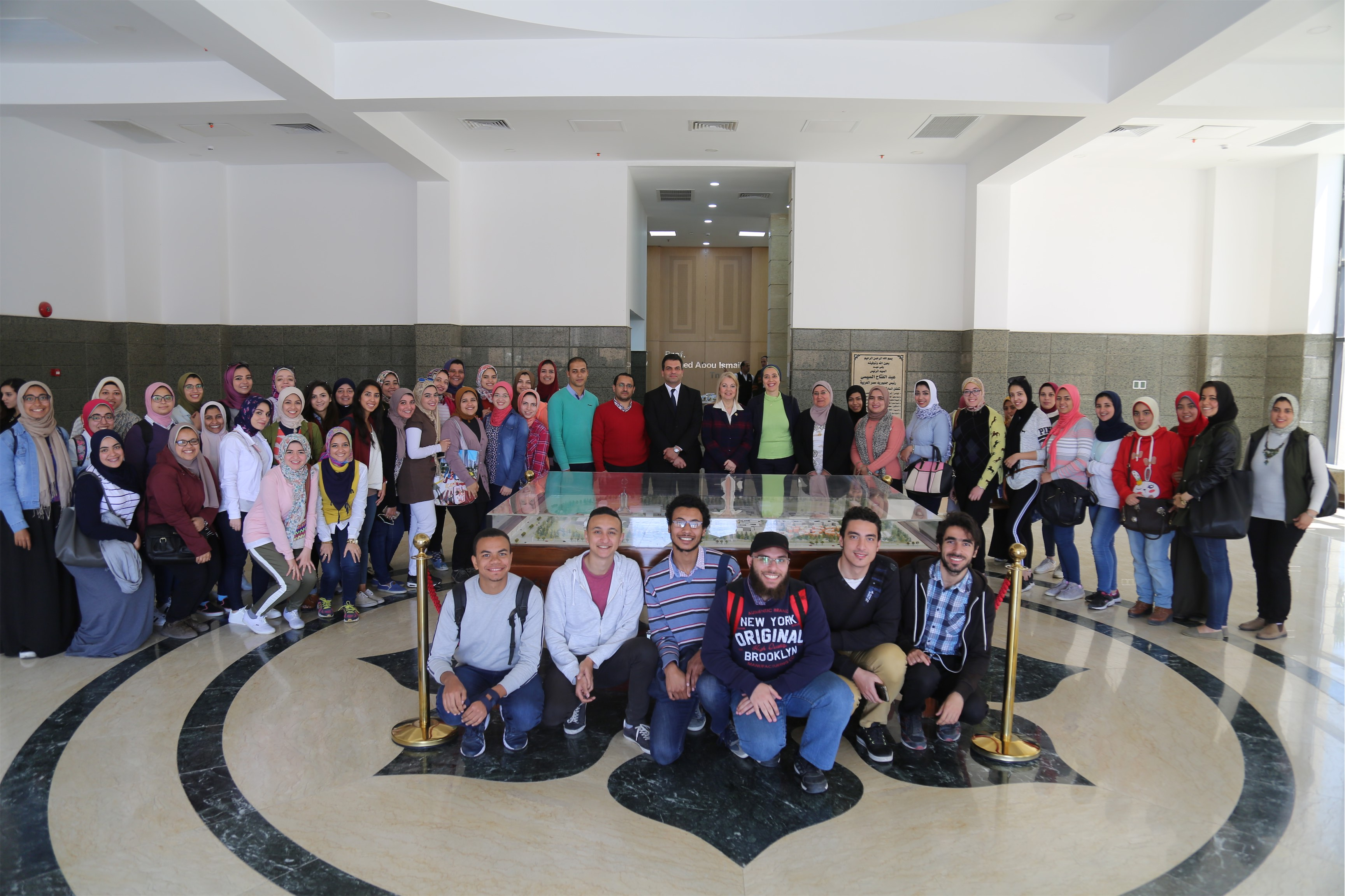 Faculty of Science Visit to EECE at E-JUST